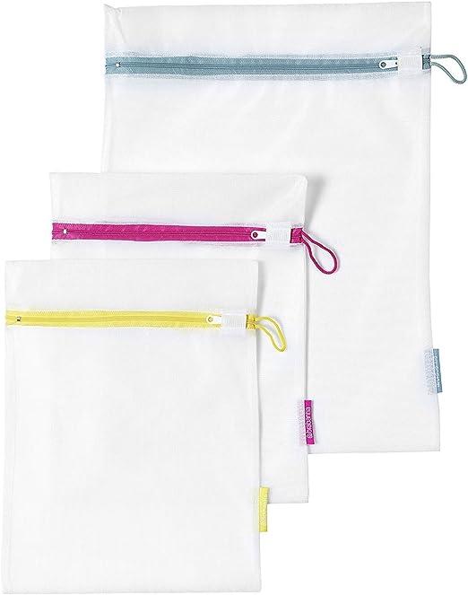 Brabantia 105388 - Juego de 3 bolsas para lavadora, 2 de 33 x 25 ...