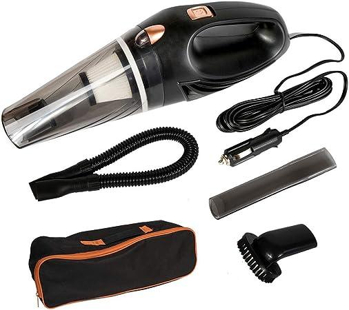 TW1000 Aspirador de Coches, 4800Pa Handheld 12V 120W Fuerte aspiradora de succión para Coche húmedo y en seco de Doble Uso Aspirador Filtro de reemplazo electrónico: Amazon.es: Hogar