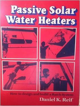 How to design passive solar water heater?