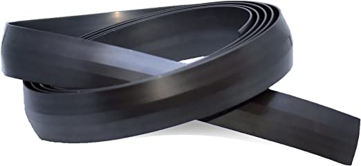 Cinta Magnética para robot aspirador Aspiradora I rollo de 25 mm de ancho en 2 metros. Color negro I Ideal para alfombras, escaleras y paredes: Amazon.es: Hogar