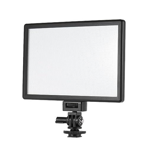 Andoer Viltrox l116t professionale ultra sottile LED luce video fotografia schiarimento luminosità e Dual Color Temp. 5600K Max luminosità 987lm 3300K CRI95+ per Canon Nikon Sony Panasonic DSLR