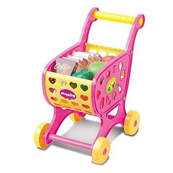 Juguete del bebé, RETUROM Carritos de compras frutas vegetales pretender jugar niños infantiles juguetes educativos regalos de Navidad (Rosa): Amazon.es: ...