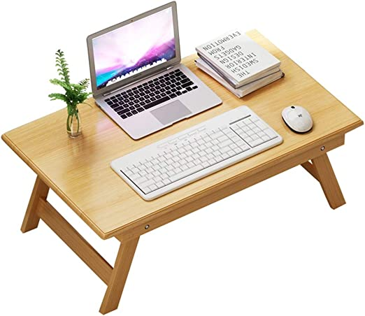 ZR Mesa de Pared- Life Bamboo Laptop Stand Mesa Plegable ...