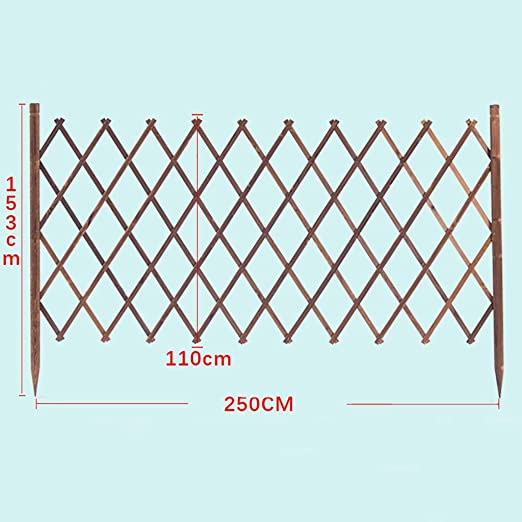 Cerca Paquete de extensión retráctil valla de rejilla, plantador ...