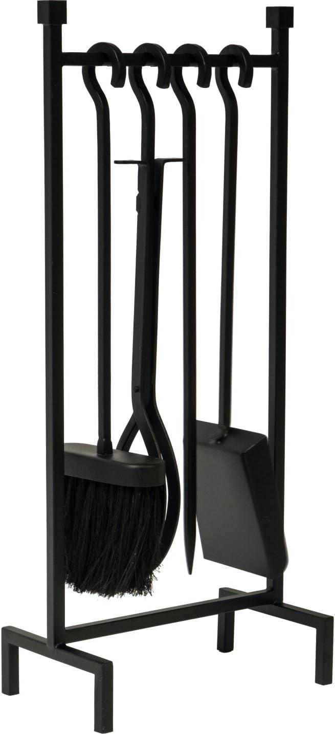 Ivyline IHRFS - Juego de Estante de Hierro para Colgar Accesorios de 50cm- Negro