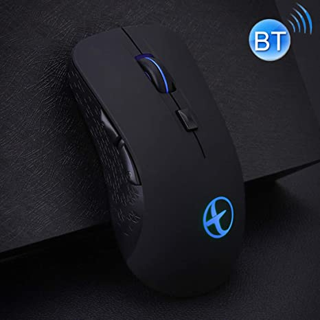 Bluetooth 4.0 2.4G Silent Dual Mode Wireless Bluetooth Gaming Mouse for Laptops