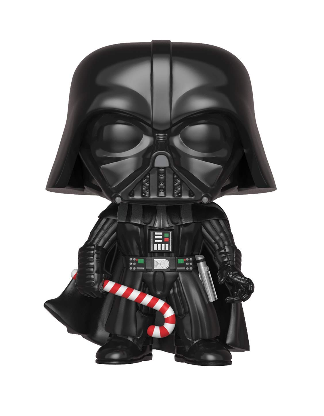 Funko Pop Star Wars: Holiday - Darth Vader with Candy Cane (Styles May Vary) Collectible Figure, Multicolor 33884