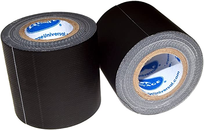 "BLACK 4/"" x 45 YARDS FULL ROLL GAFFERS TAPE"