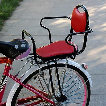 FHGH Silla Bicicleta NiñO,Asiento Bicicleta NiñO Bicicleta EléCtrica Asiento Infantil Trasero NiñO Estudiante Bebé Seguro Sentado Engrosamiento Ensanchamiento: Amazon.es: Hogar