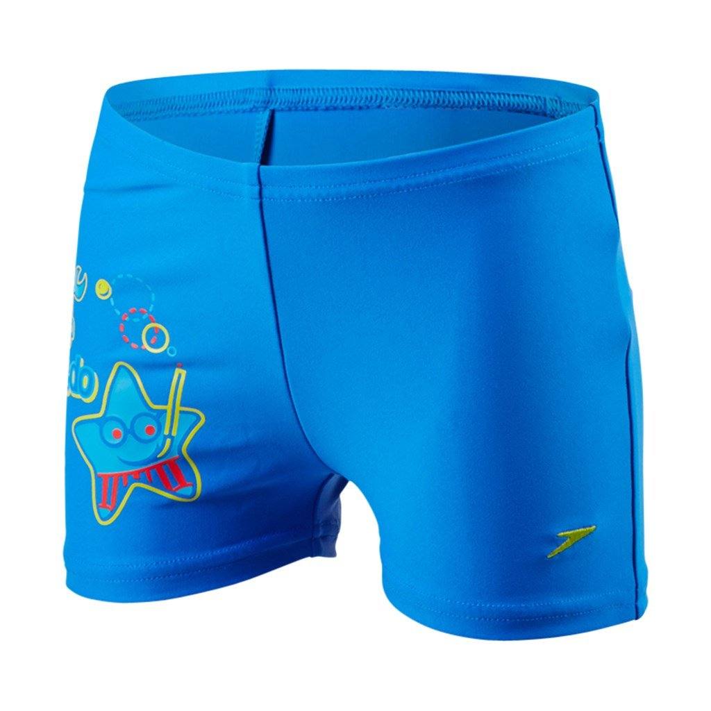 Speedo Seasquad Plmt Asht Im Costume Da Bagno, Neon Blu/Japan Blu/Rosso, 5 8-09219B4195YRS