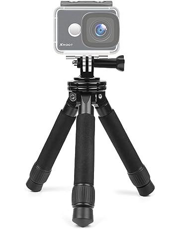 Puluz palmare in metallo regolabile treppiede monopiede prolunga asta per DSLR e fotocamere reflex