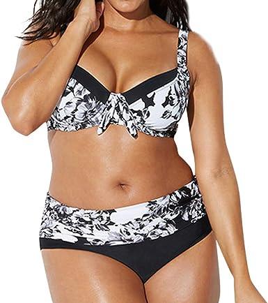 Conjuntos Bikinis Tallas Grandes Mujer 2019 Brasileno Traje De Bano Bikini Bragas Mujer Push Up Banadores Biquinis Negro Xxl Amazon Es Ropa Y Accesorios