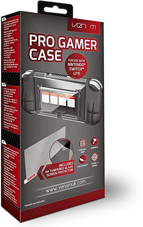 Venom Switch Lite Pro Gamer Shell Case and Screen Protector ...