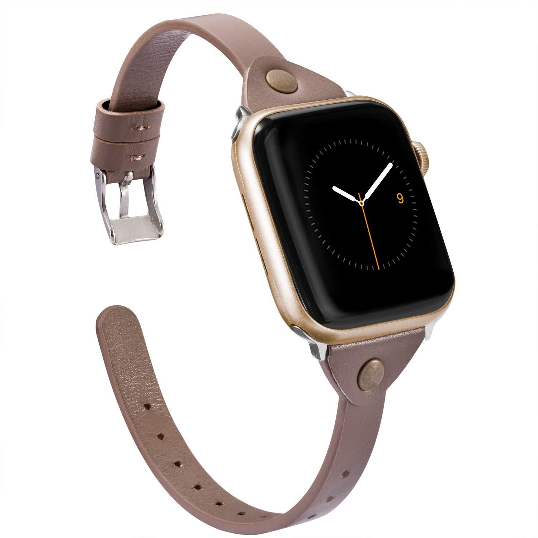 Malla Cuero para Apple Watch (38/40mm) WEARLIZER [7WGBK8K2]