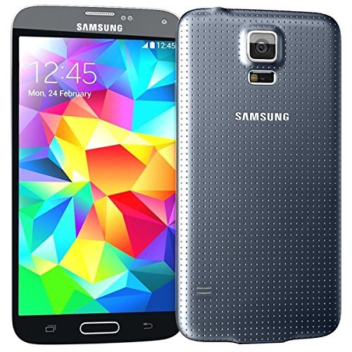 Samsung Galaxy S5 for STRAIGHT TALK with ACCESSORIES BUNDLE - Use Verizon's 4G LTE Network (BLACK) (Galaxy Cell Phones Straight Talk)