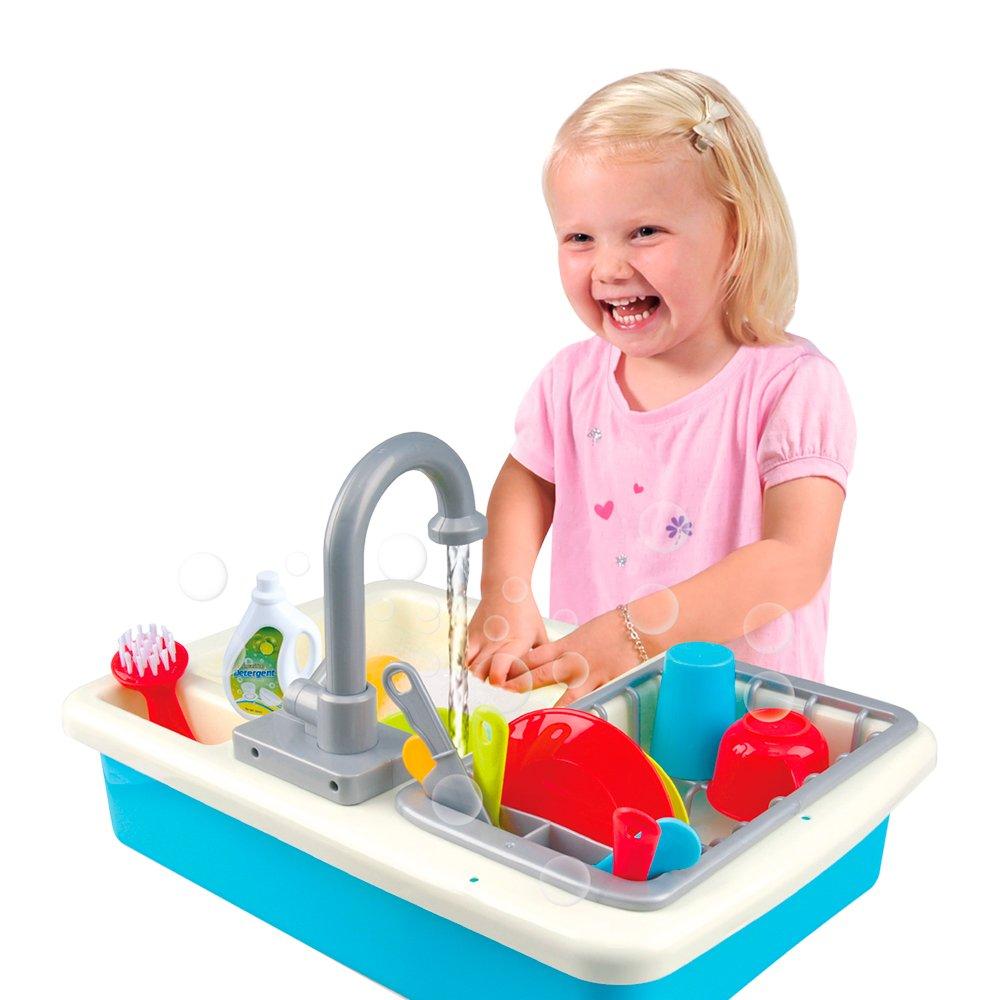 PlayGo Auflage mit Wasser und 20-teilig (Farbe Baby 44591): Amazon ...