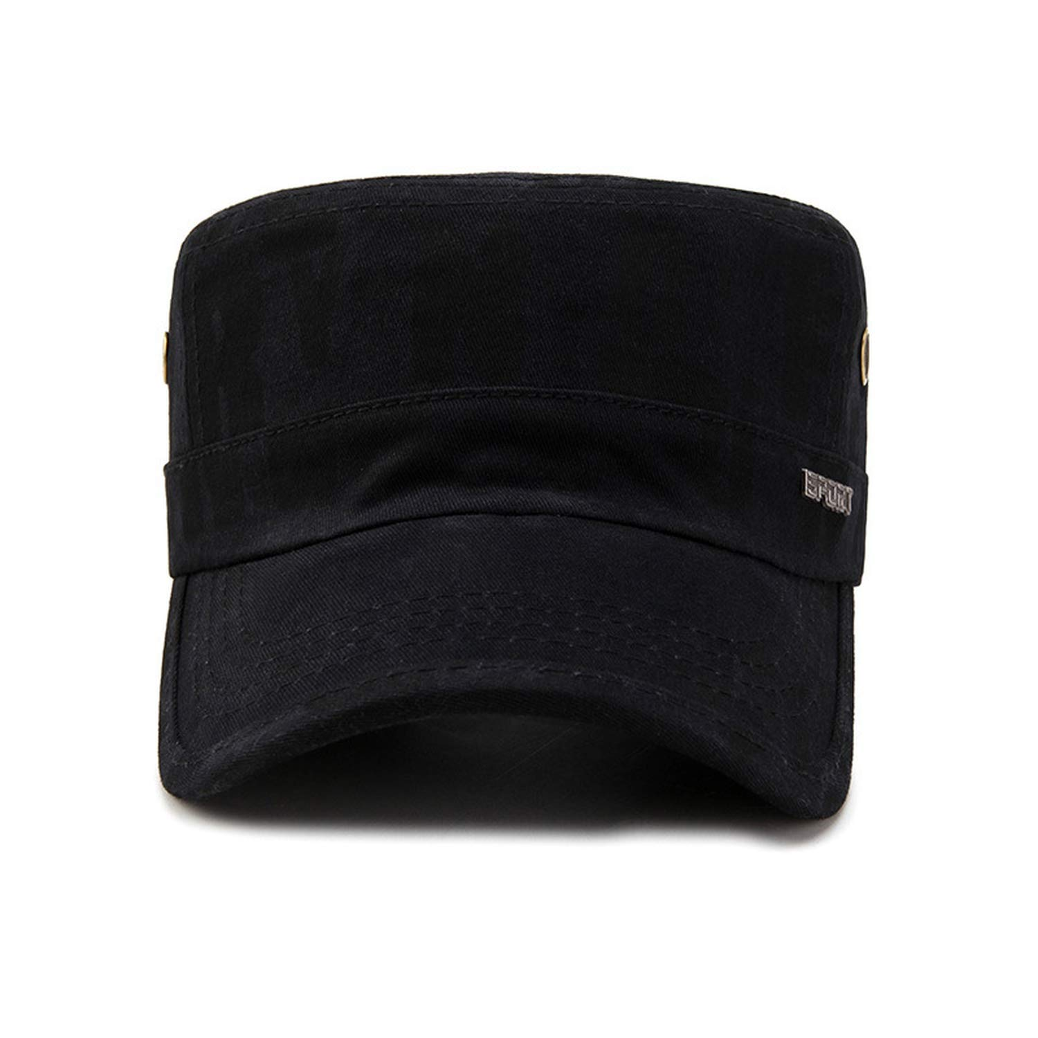 Solid Summer Flat Hats for Men Women Sun Visor Hat Sport Baseball Caps Black Dad Hat Men Trucker Cap