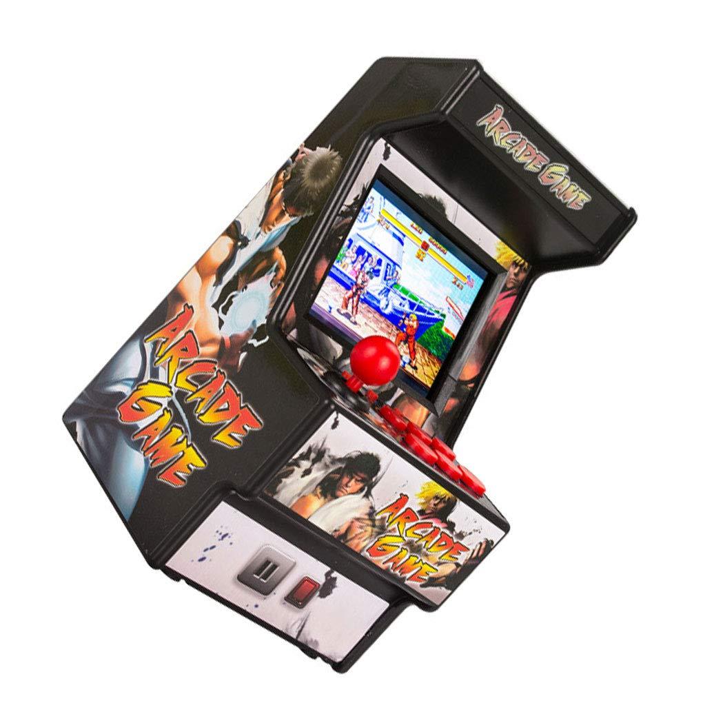 Pandiki Mini port/átil Retro de 2,8 Pulgadas de 16 bits Consola de Juegos 165 de Videojuegos cl/ásicos en 1 Mini Retro Arcade de la Consola