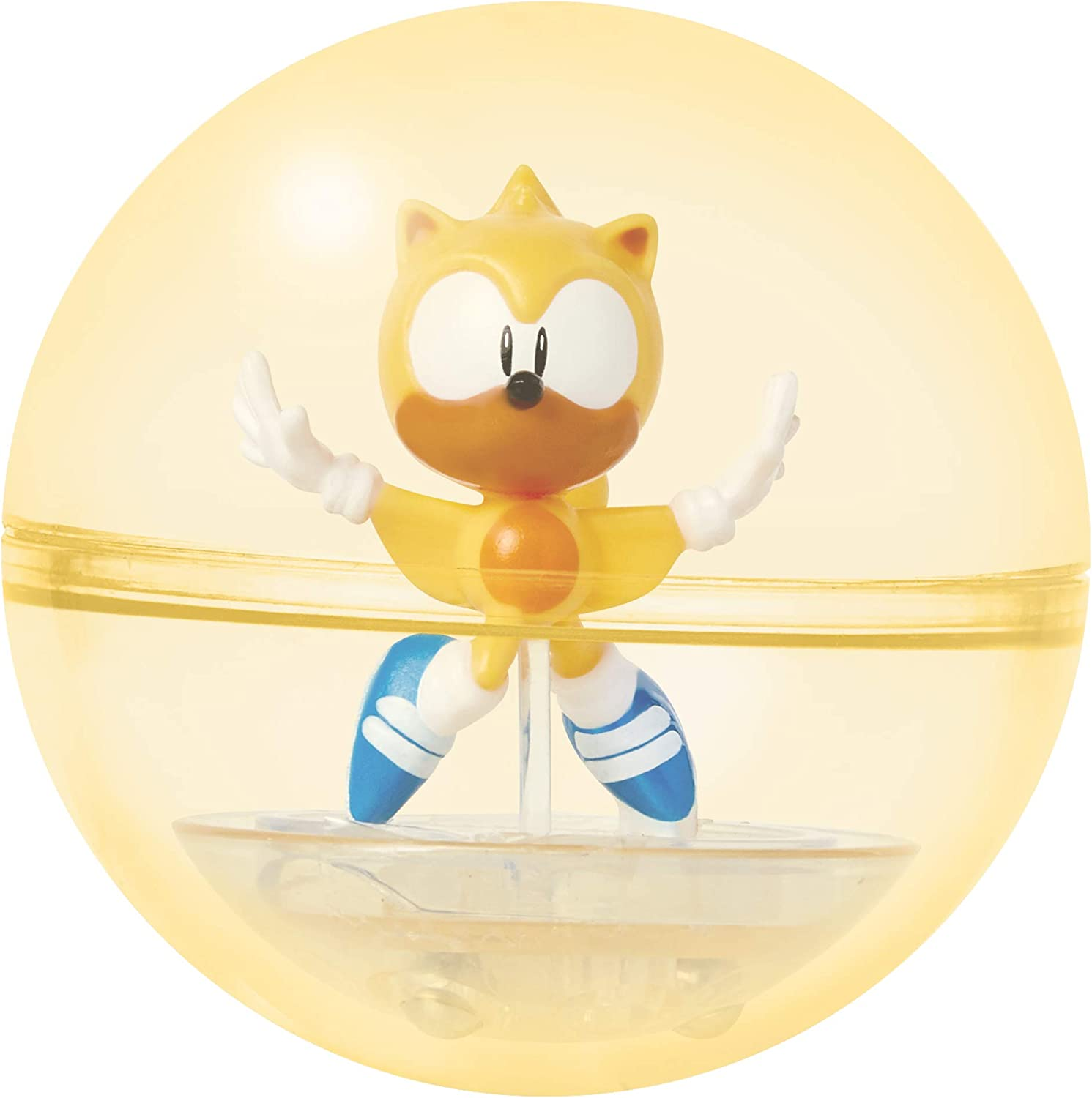 Amazon Com Sonic The Hedgehog Sonic Booster Sphere Ray Action Figure Toys Games
