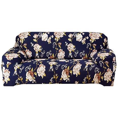 YanHe - Funda elástica para sofá, diseño de Flores, Color ...