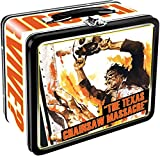 "Horror fans rejoice with this colorful tin Fun Box from one of the best original movies ever, ""The Texas Chainsaw Massacre"". This hinged fun box measures 7.75 x 6.75 x 4.13 and is perfect for fun or ""stuff""."