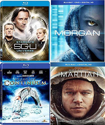 - Head for Mars Matt Damon Martian + A Bioengineered Child Morgan Movie + Stargate SGU Season 1.5 + UNIVERSE Star gate: Continuum Pack Blu Ray Mega Sci-Fi Set