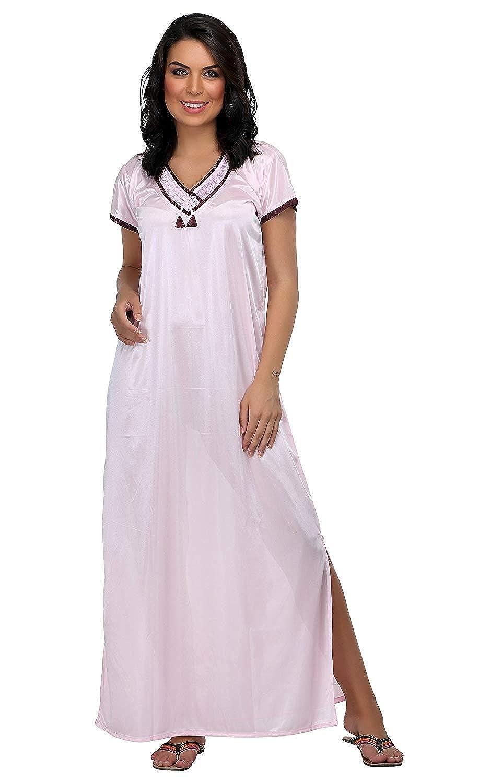 4faabfb0fe Miss pixy womens floral off white nighty satin fashion sleepwear clothing  jpg 917x1500 White satin nighty