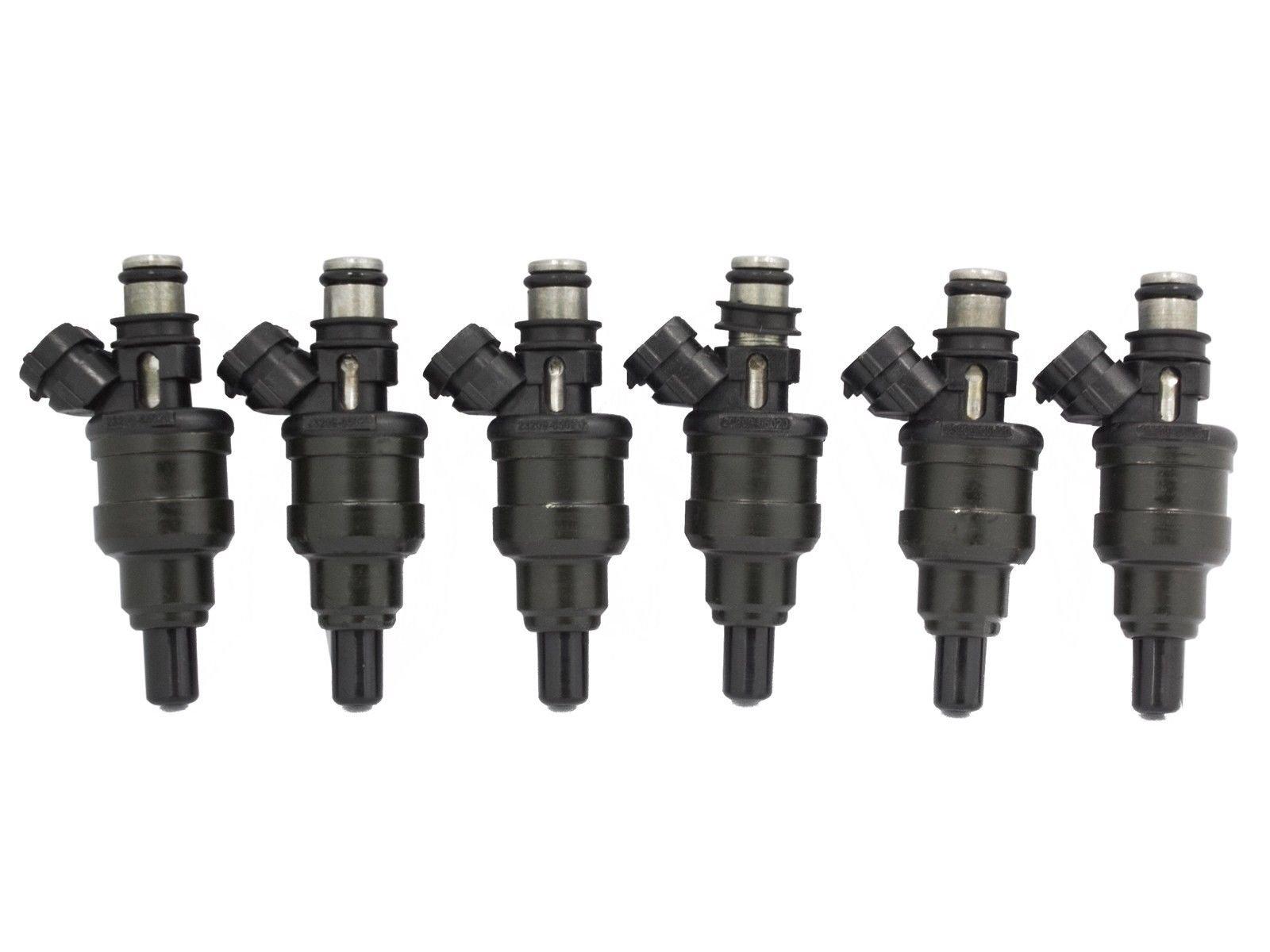Set of 6 Fuel Injectors For 89-95 Toyota 4Runner Pickup 3VZE 3.0L V6 23250-65020