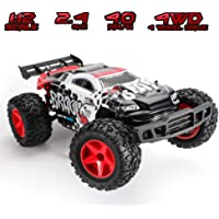 Koowheel 2.4GHz 30MPH 1:12 Scale 4WD Remote-Controlled Off-Road Car (Red)