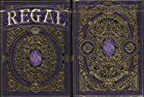 Regal Purple Playing Cards Poker Size Deck EPCC Custom Limited Edition