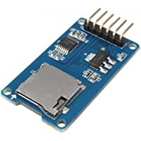 daorier Micro SD Karte Micro SDHC Mini TF Card Adapter Reader Modul 3,3 V/6-Pin SPI für Arduino
