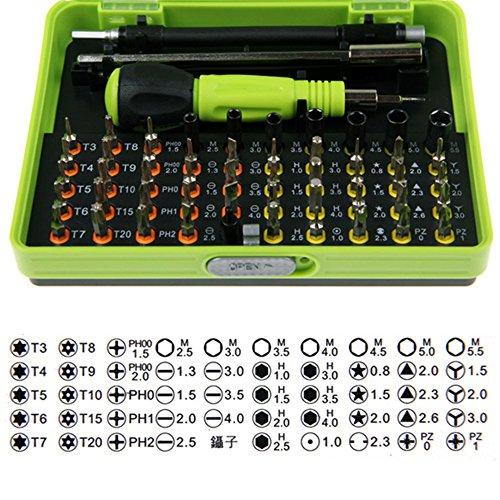 Aothpher Aothpher 53in 1cacciavite di precisione con custodia & # xFF0C; magnetico Diver kit set, Professional Hand Tool kit di riparazione per laptop, computer, cellulare, iPad e piccoli giocattol