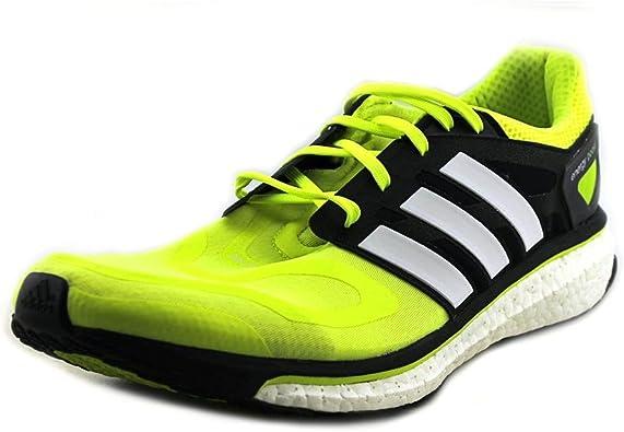engañar Señuelo la carretera  Amazon.com: adidas Energy Boost – Zapatillas de running para hombre, Verde,  15 D(M) US: Shoes