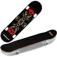 ZZTHJSM Skateboard Adulto, Arce Tabla Skate, Monopatines Principiantes, para Adultos, Profesional, Adolescentes