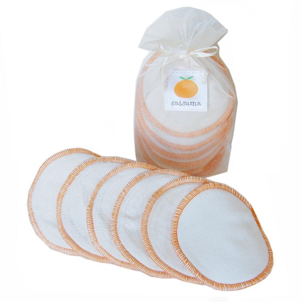 出産祝い Satsuma Designs Organic Washable Nursing Pads, Pads, Organic Natural/Orange B005G3FOEI by Satsuma Designs B005G3FOEI, CANAL JEAN キャナルジーン:5930ee92 --- a0267596.xsph.ru