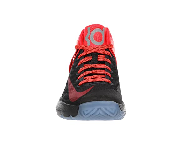 099723cd300c Nike Men s KD Trey 5 IV PRM Kevin Durant Basketball Shoes Black Bright  Crimson  Buy Online at Low Prices in India - Amazon.in