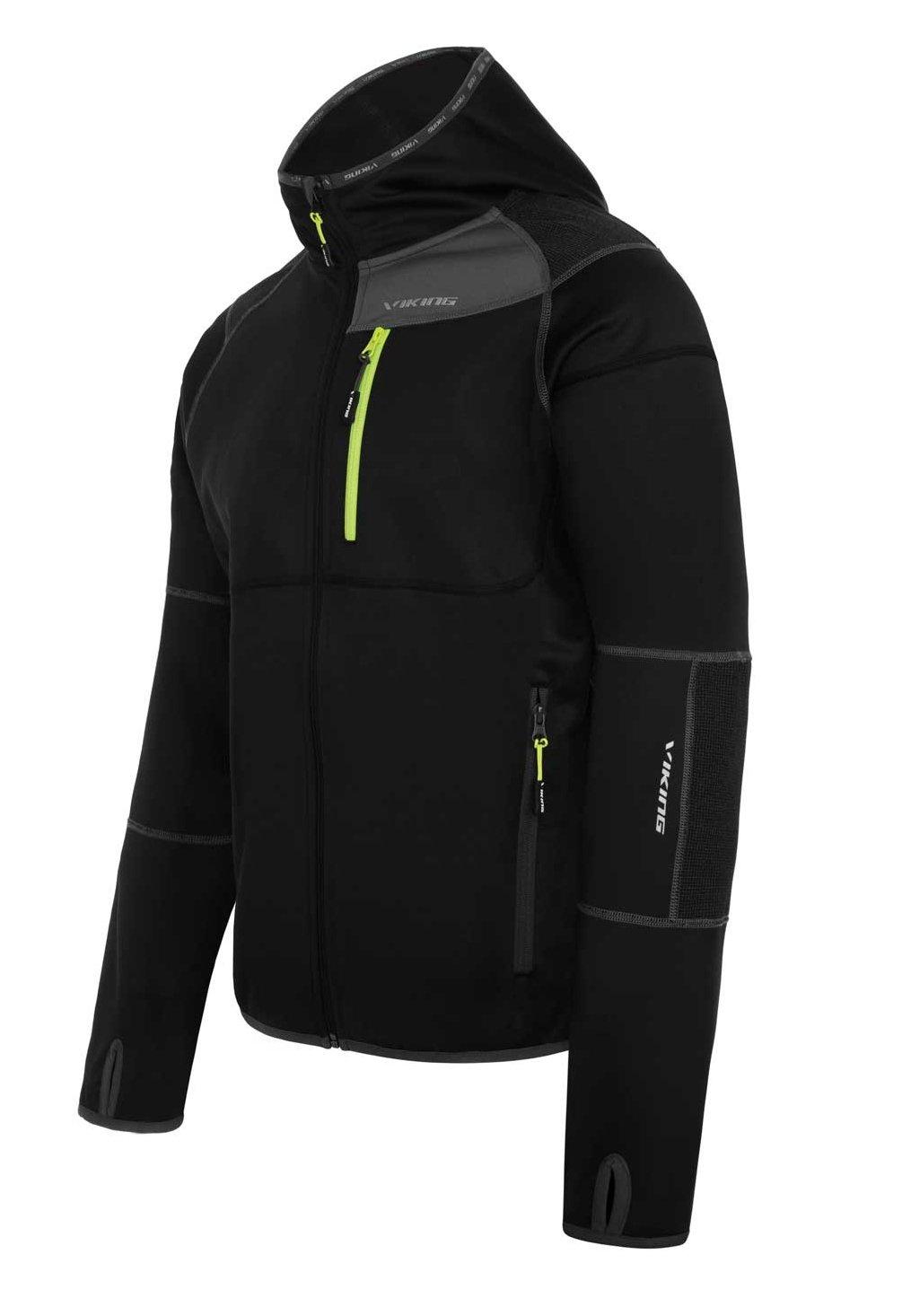 viking Giacca Funzionale Da Uomo - Perfetta Per Il Trekking - Traspirante - Resistente All'Acqua E Al Vento - Alpine Man Larix