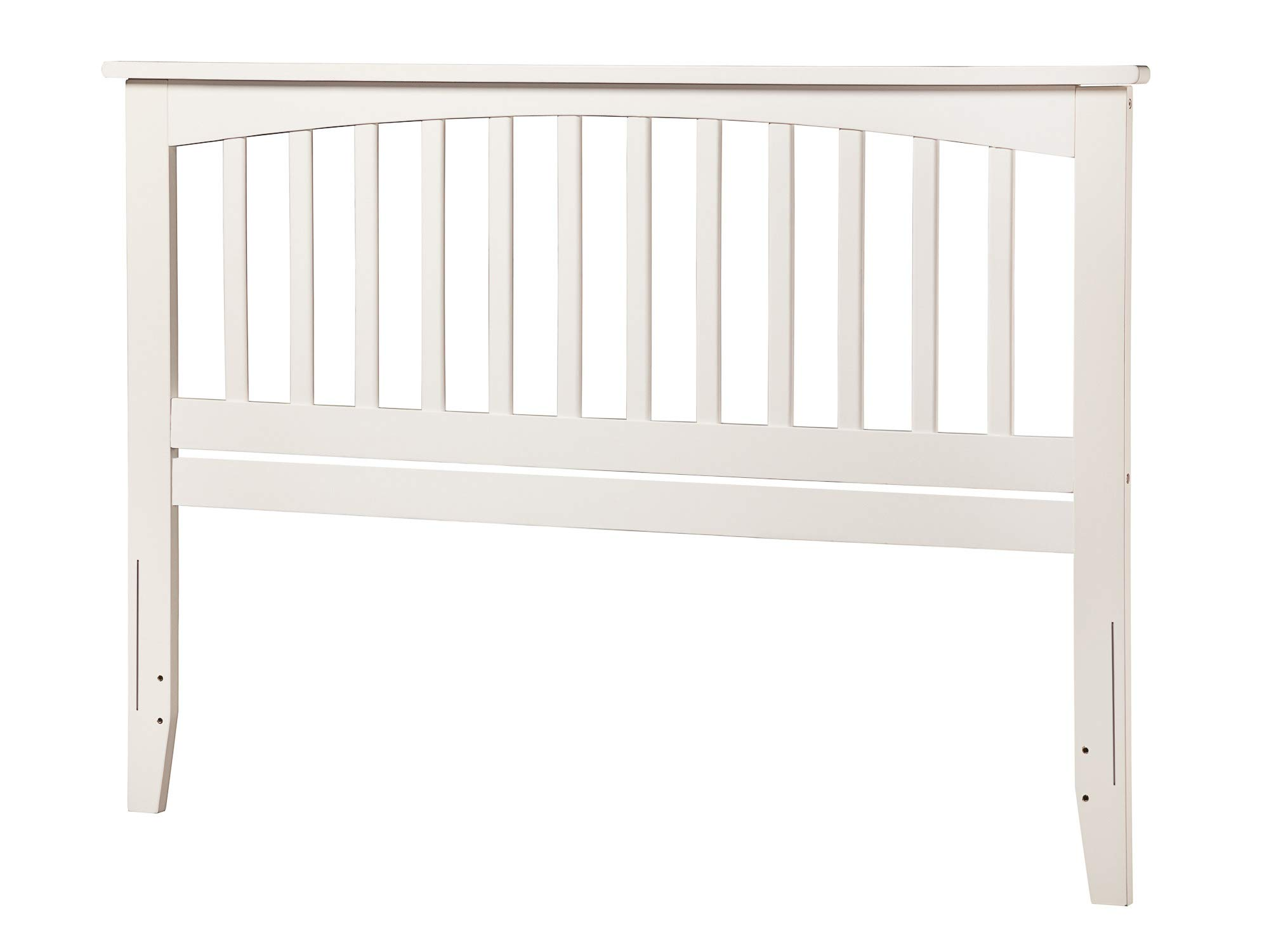 Atlantic Furniture AR287842 Mission Headboard, Queen, White