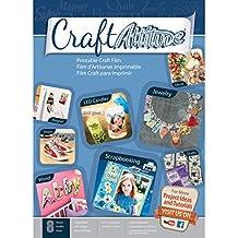 Craft Attitude Adhesive Sheets, 8-Sheet, 8.5 by 11-Inch