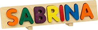 product image for Name Puzzle, Bright Colors - 7 Letters with Props - Made in USA