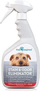 Paw Inspired Pet Enzyme Cleaner Spray | Enzymatic Cleaner for Dogs, Eliminates Dog Urine Smell | Enzymatic Cleaner for Cat Urine | Pet Odor Eliminator and Pet Stain Remover