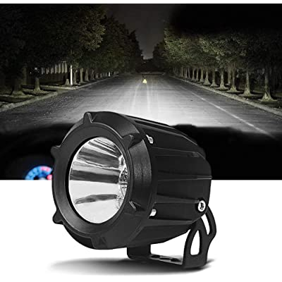 Samlighting 3.5 Inch 25W Led Work Light Flood Spot Combo Beam 6000K White Led Driving Lights Small Pod Fog Lamp For Motorcycle Jeep SUV Truck Wrangler Boat Tractor 1 Pack: Automotive