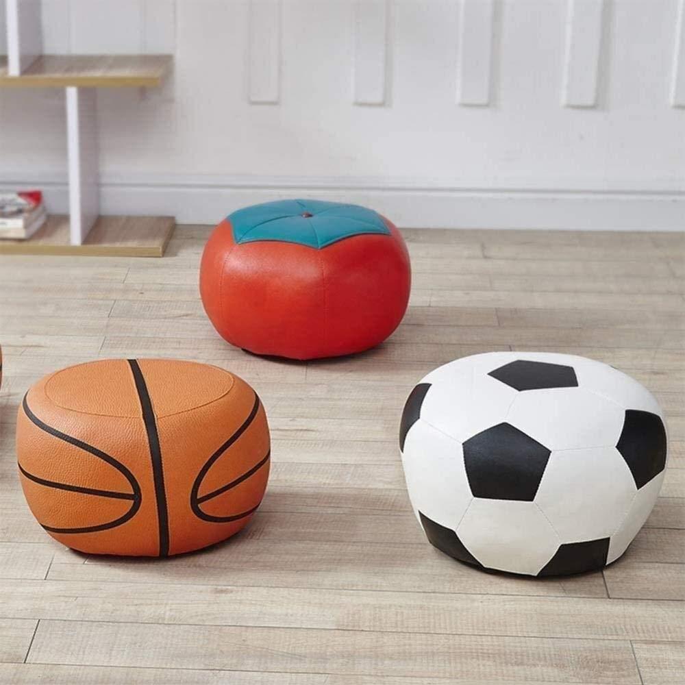 Stol soffa fotpall – vardagsrum modern kreativ fyrkantig sko bänk nordisk flockande tyg passande rum pall (färg: A), färg: B (färg: B) a