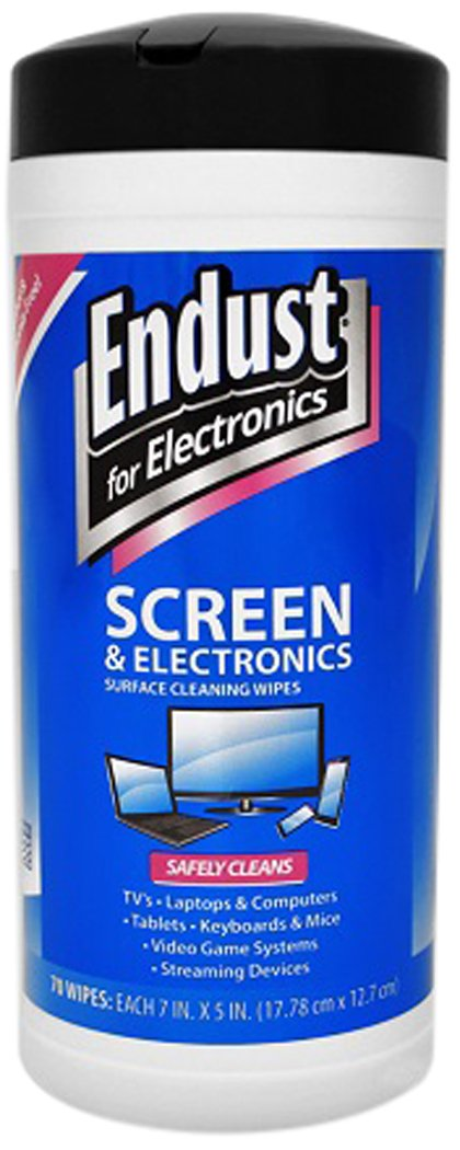 Endust For Electronics NOZ11506KIT LCD Monitor Pop Up Wipes, 3-Pack