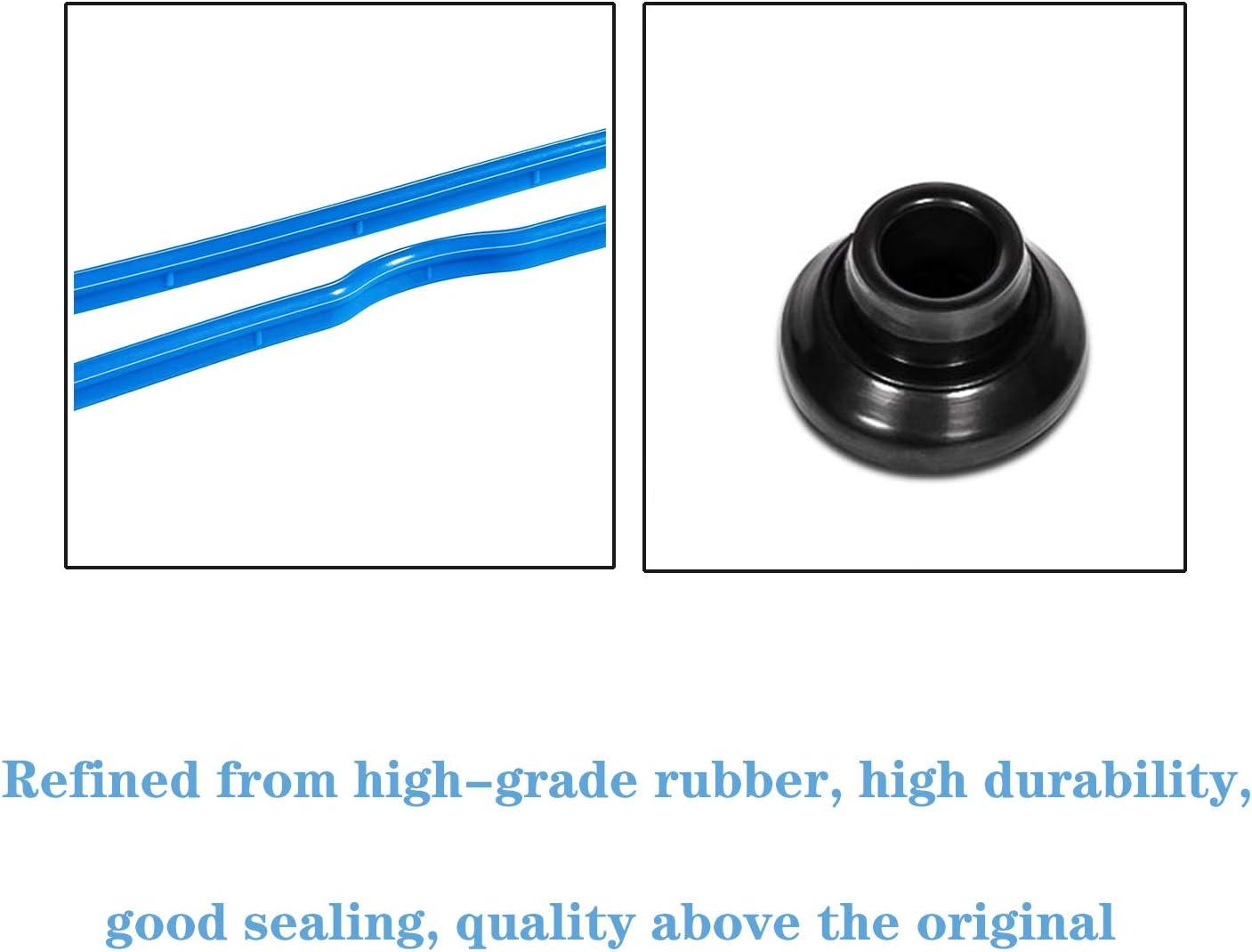 Manicar VS 50504 R-1 Valve Cover Gasket Set Black