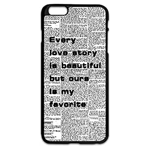 Great News Paper Plastic Case For IPhone 6 Plus