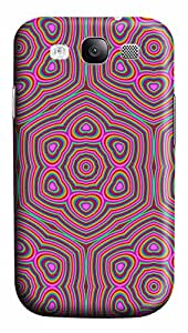 Samsung Galaxy S3 I9300 Case,Samsung Galaxy S3 I9300 Cases - Psychedelic Love PC Polycarbonate Hard Case Back Cover for Samsung Galaxy S3 I9300