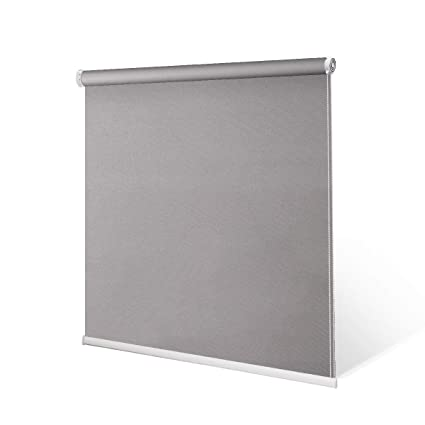 Schrling No Drill Daylight Roller Shade Tension Inside Mount Expansion Window Blind Custom Size 20 90 W 20 98 L