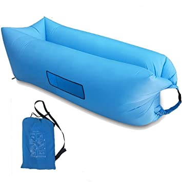 Home-Neat Lazy Bag laybag Saco de Dormir rápido Aire Inflable Camping Playa de Dormir