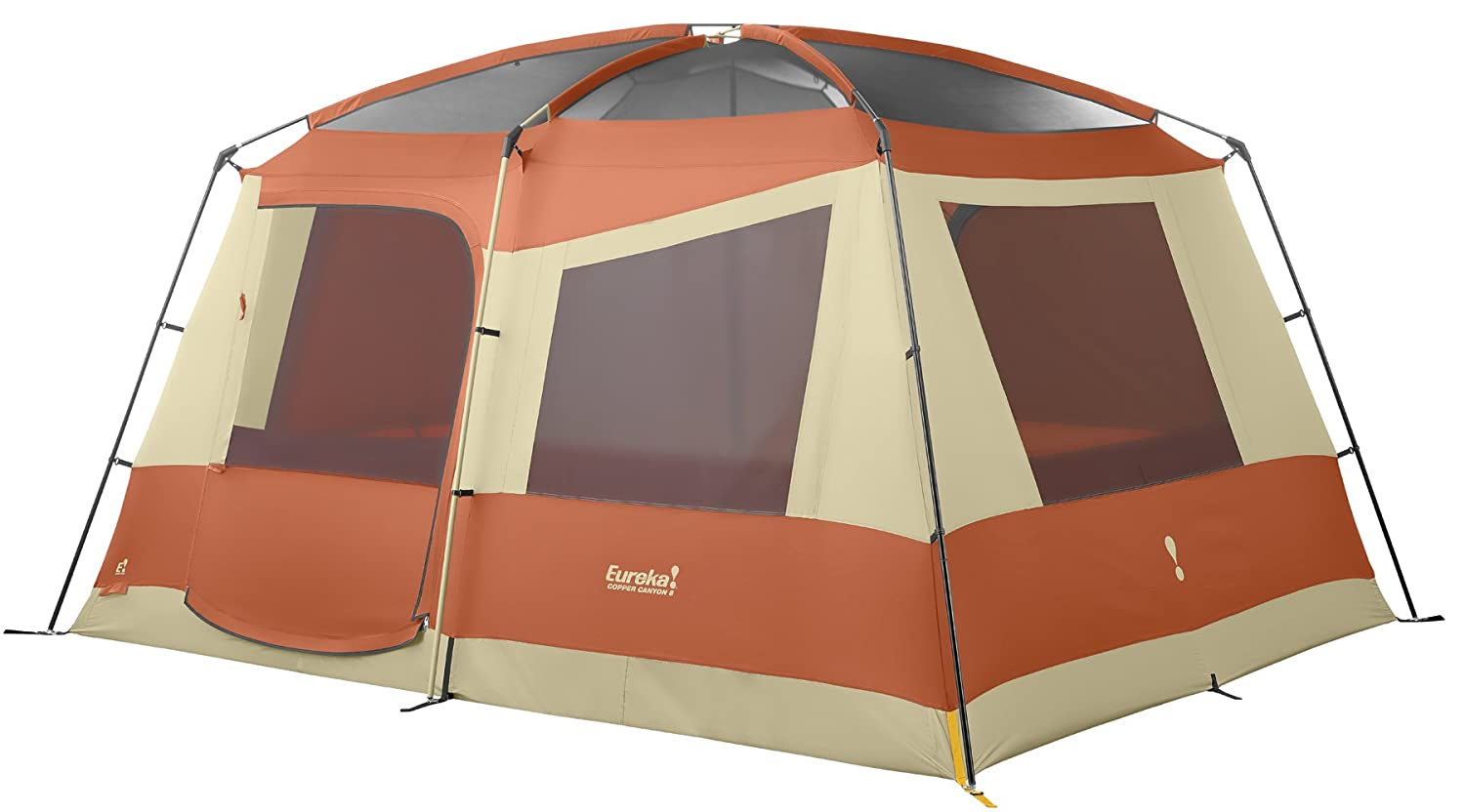 Amazon.com  Eureka Copper Canyon 8 -Person Tent  Family Tents  Sports u0026 Outdoors  sc 1 st  Amazon.com & Amazon.com : Eureka Copper Canyon 8 -Person Tent : Family Tents ...